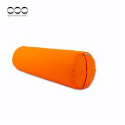 OOO-Yogabolster Rund Kapok - Orange